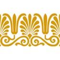 gold victorian  trim