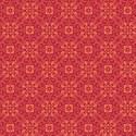 diagonal floral layering paper