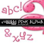 Pink Polka Dot Alpha
