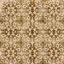 flower tile layering paper