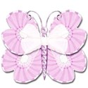 lilca butterfly and bow