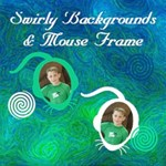 Swirly Stuff & Mouse Frames