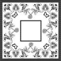 black composite frame