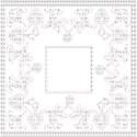 white composite frame