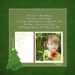 Merry Christmas ~ Green Theme