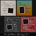 Beautiful Quotes QP Set 1 Cover