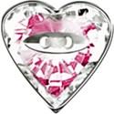 pink diamond button