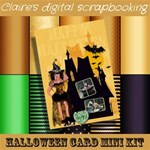 Halloween Card mini kit