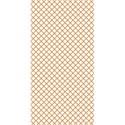 tangerine criss cross paper embellishment