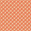 orange ghost glitter paper
