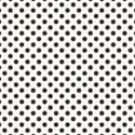 brown polka dot paper 6 x 6 square