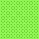 green with green polka dots 6 x 6 square