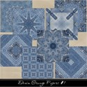 Denim Grunge Papers #1 Cover