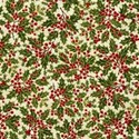 paper fabric holly berries