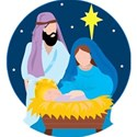 nativity scene globe