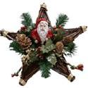 Santa Star wreath