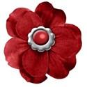 Flower Red Center