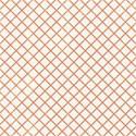 6 x 6 tangerine criss cross