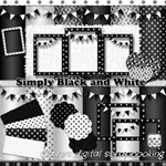 Simply Black and White free