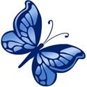 butterfly blue 3