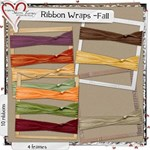Ribbon Wraps for Fall