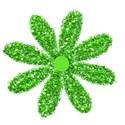 glitter flower 2