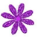 glitter flower copy