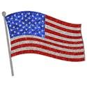flag glitter