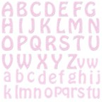 PINK LACE LETTERS