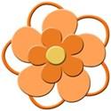 orange flower 1