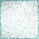 blue glitter overlay
