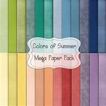 Colors of Summer Mega Paper Pack