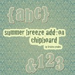 Summer Breeze Chipboard Add-on