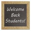 welcome back students