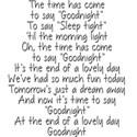 text goodnight