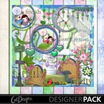 Dandelion Dreams plus bonus scrapbook pages