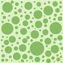 Lime Ditsy Dots