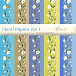 Floral Papers Vol 1- FREE for a limited time