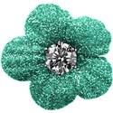 flower teal