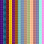 Colorful Checkers Background & Embellishment