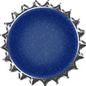 Bottlecap blue