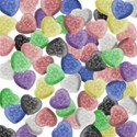 candy heart paper