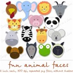Fun Animal Faces