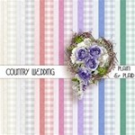 Country Wedding Paper Plain & Plaid
