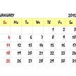 Calendar 2015 - English