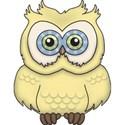 CK5e Owl SunWash ScrapGraphicsDotCom