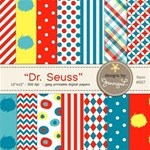 Dr. Seuss Inspired Papers
