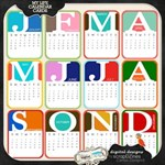 Pocket Scrapbooking: Calendar Cards