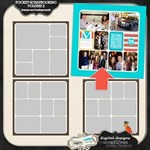 Pocket Scrapbooking: Background and frames Vol. 2