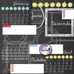 Chalk Calendar 2015